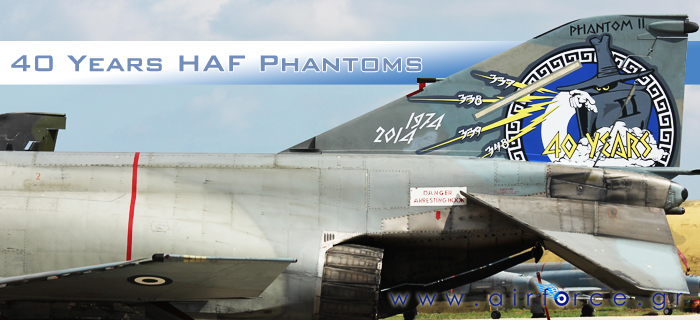 b4eaa0cddef858 40 Years HAF F-4 Phantoms